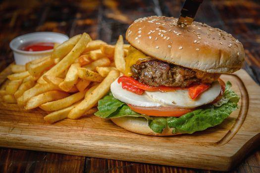 Photo free Burger, bun, potato