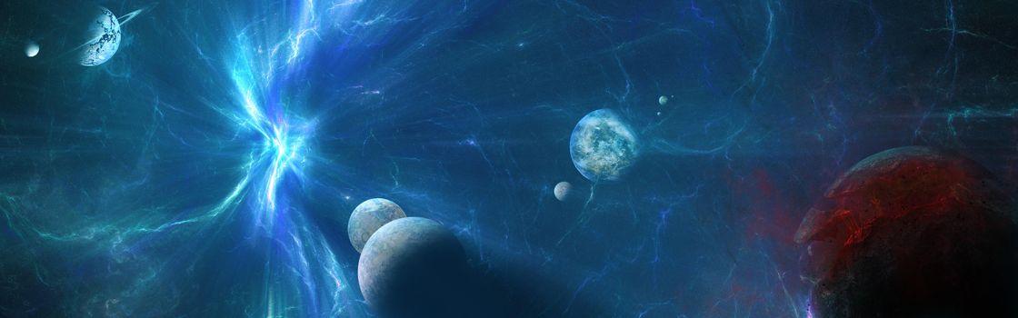 Заставка космос, вселенная на айфон