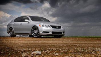 Бесплатные фото Lexus,седан,серебристый,диски