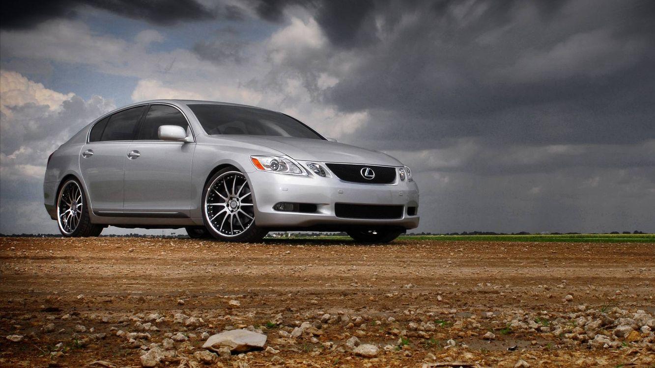 Фото бесплатно Lexus, седан, серебристый, диски, машины