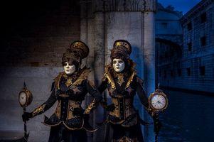 Фото бесплатно Венецианский наряд, костюмы, маска