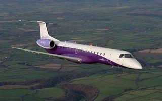 Photo free business aircraft, cabin, portholes