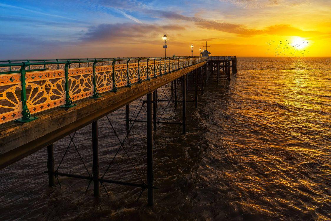 Фото бесплатно Пенарт Пирс, море, Пенарт - на рабочий стол