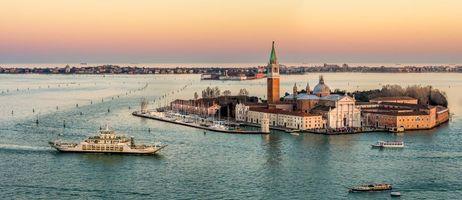 Фото бесплатно церковь Сан-Джорджо Маджоре, Венеция, Италия
