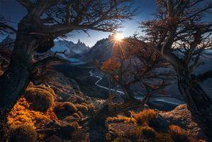 Фото бесплатно Patagonia, Argentina, закат