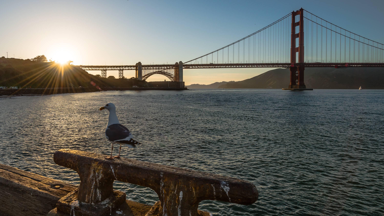 Golden Gate, Калифорния, Сан-Франциско