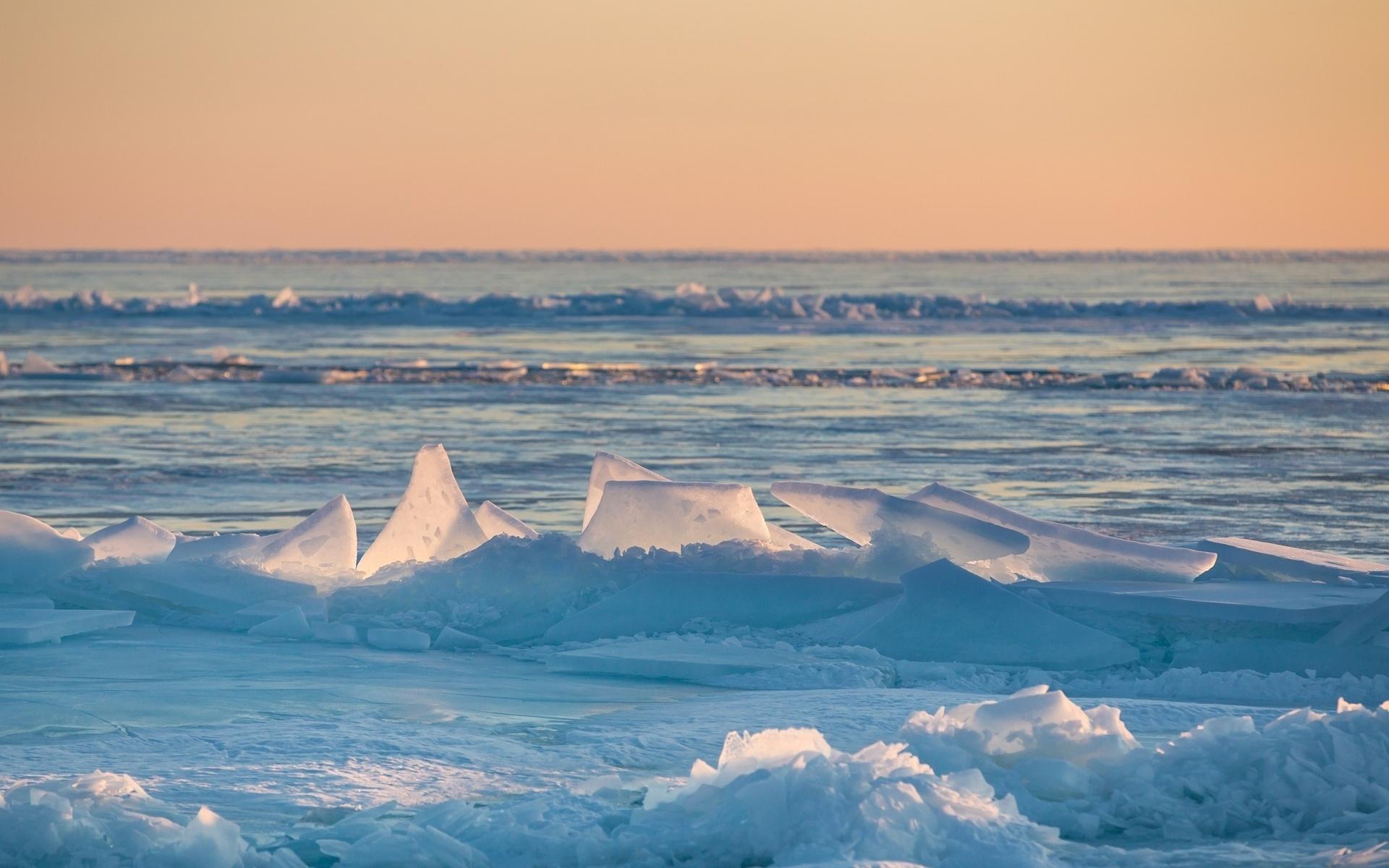 обои море зимой для рабочего стола № 632314  скачать
