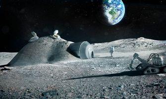Бесплатные фото космос,Земля,луна,космонавты,дом,станция,база