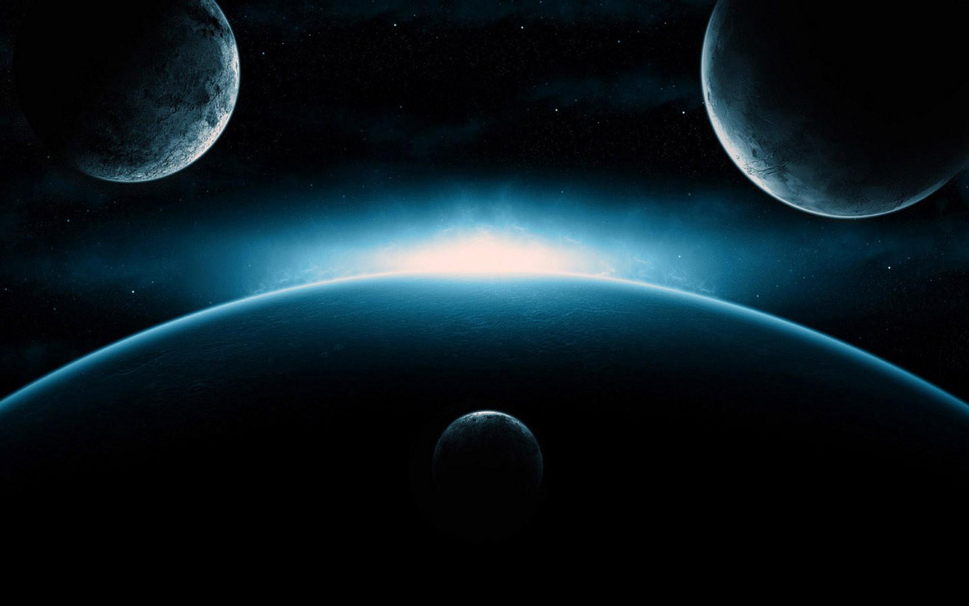 Обои планета космос орбита картинки на рабочий стол на тему Космос - скачать  № 1757101 бесплатно