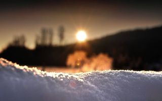 Бесплатные фото зима,снег,фон,гора,деревья,солнце