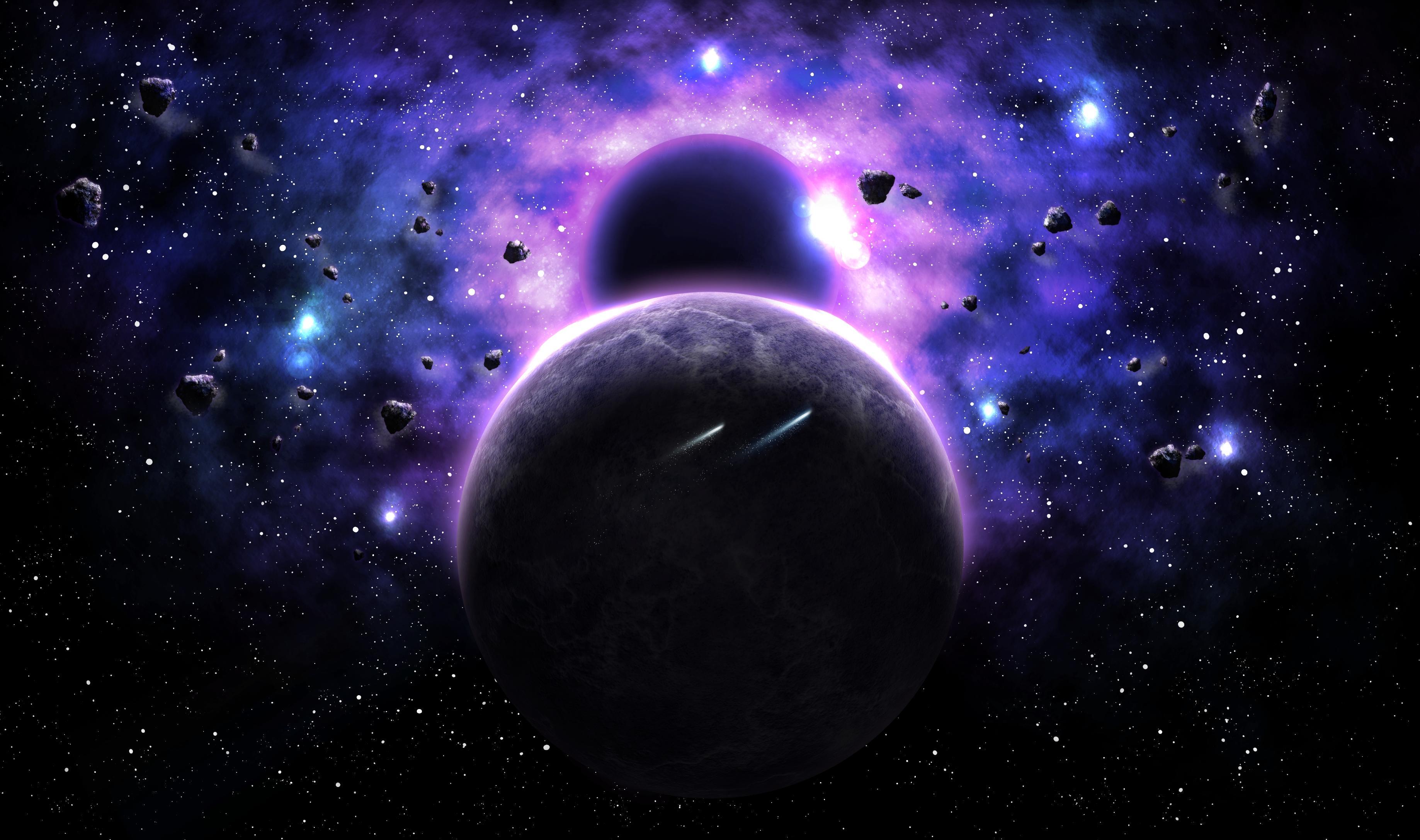 Обои космос, планеты, вселенная, галактика