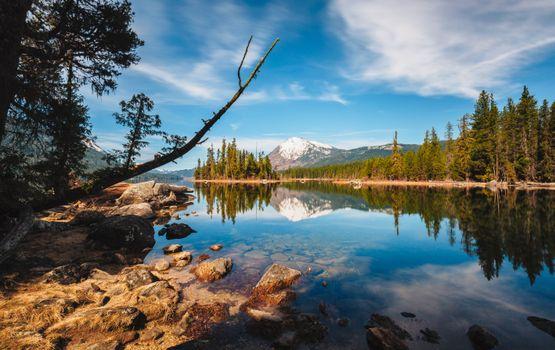 Фото бесплатно Lake Wenatchee, Лейк Венатчи, Вашингтон