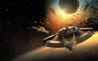 Фото бесплатно Звездные войны, космические, корабли