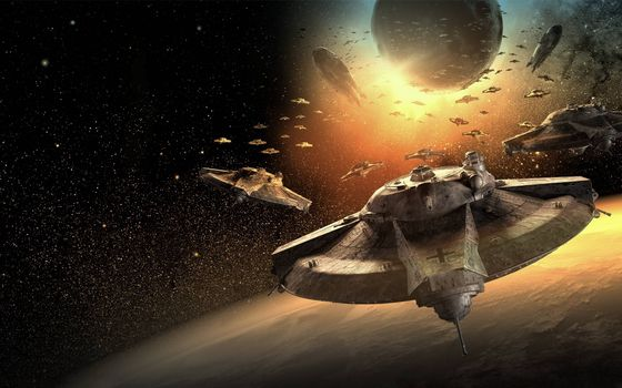 Photo free Star wars, space, ships