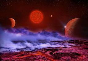 Заставки вакуум, галактика, метеориты