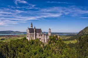 Бесплатные фото Германия,Замок Нойшванштайн,Тегельберг,Bavaria