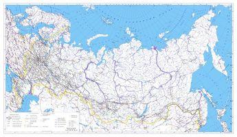 Бесплатные фото Россия,Административная карта,карта России