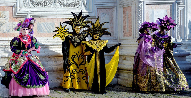 Фото бесплатно карнавал в венеции, карнавал, венецианский наряд - на рабочий стол