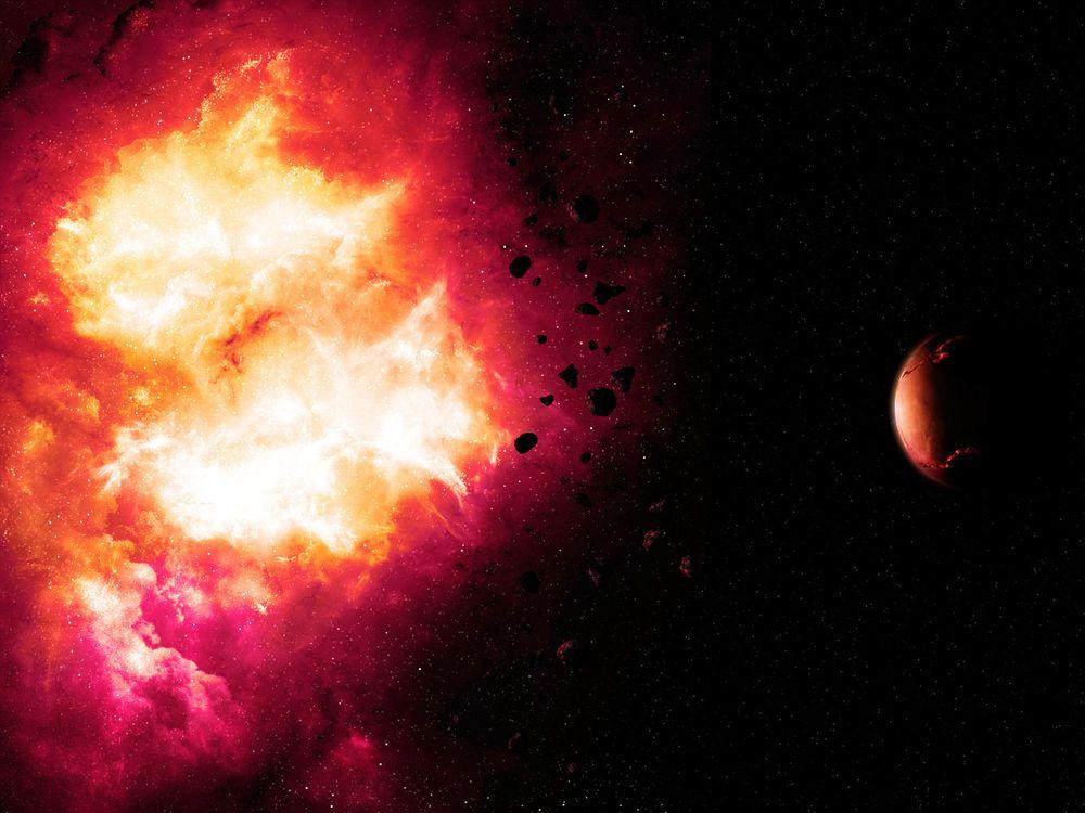 Фото бесплатно космос, вселенная, планеты, звёзды, созвездия, свечение, невесомость, вакуум, галактика, метеориты, астероиды, art, космос - скачать на рабочий стол