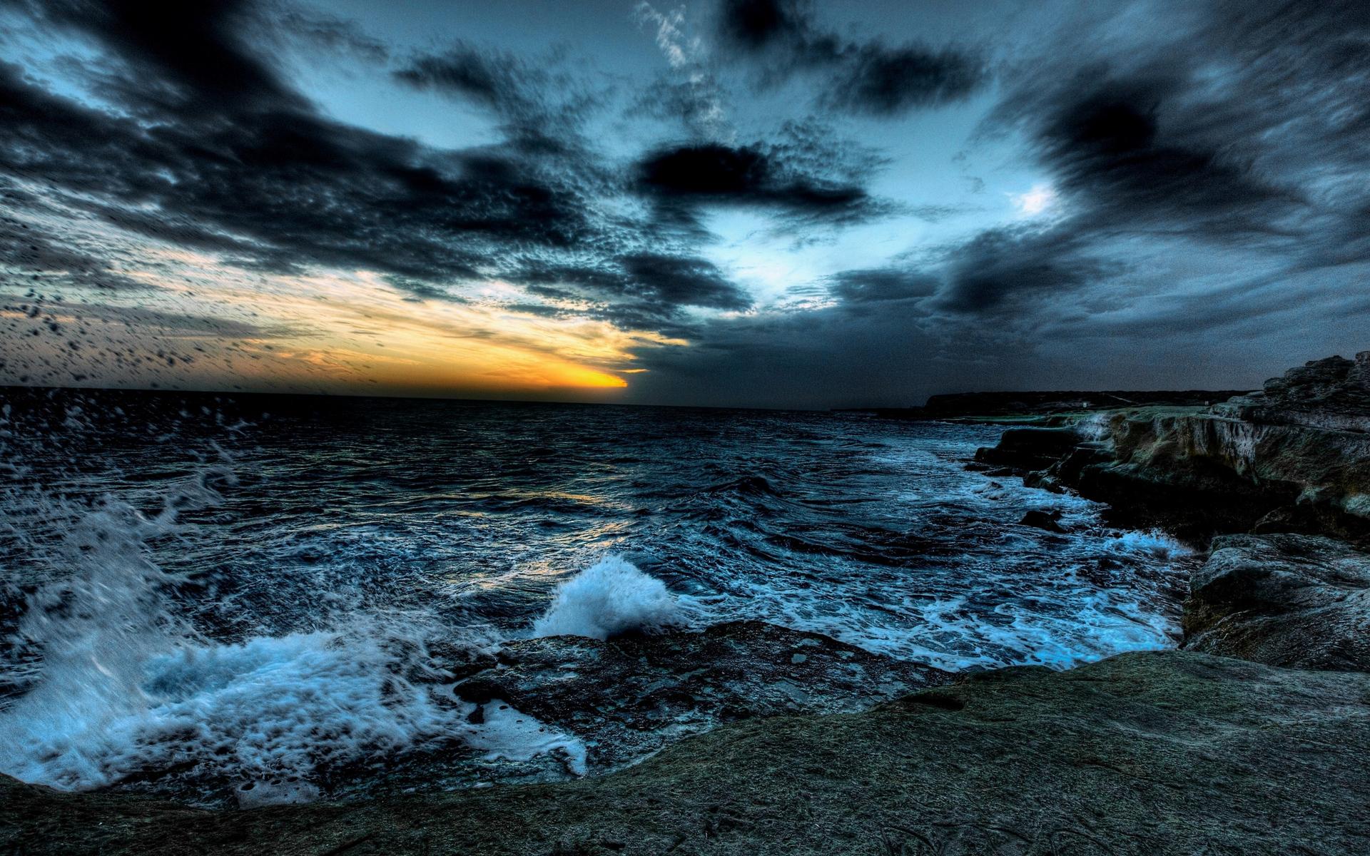 природа горизонт облака небо море nature horizon clouds the sky sea  № 2761317  скачать