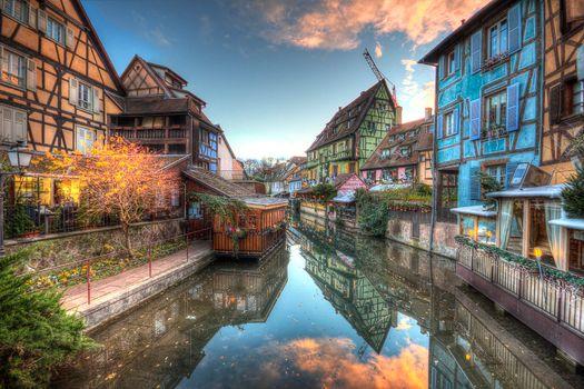 Colmar, Alsace, France, Кольмар, Эльзас