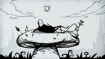 Бесплатные фото Mr Freeman,Мистер Фримен,персонаж,солнце,отдых,кальян,гриб