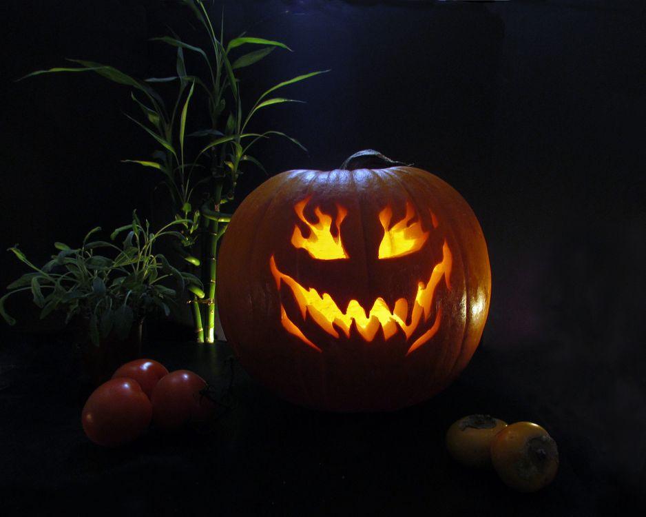 Фото бесплатно Happy Halloween, Хэллоуин, праздник, тыква, праздники