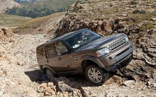 Photo free Range Rover, Discovery 4, highlands