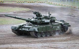 Фото бесплатно танк, башня, пушка, ствол, пулемет, броня, гусеницы, движение