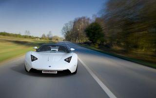 Бесплатные фото маруся,спорткар,белый,дорога,разметка,скорость