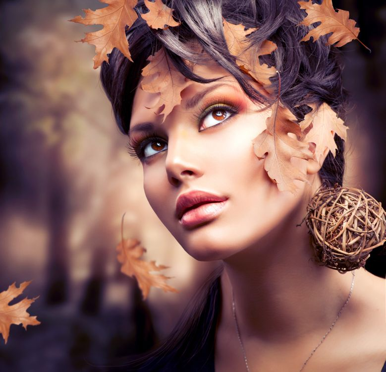 Photos for free style, beautiful make-up, mood - to the desktop