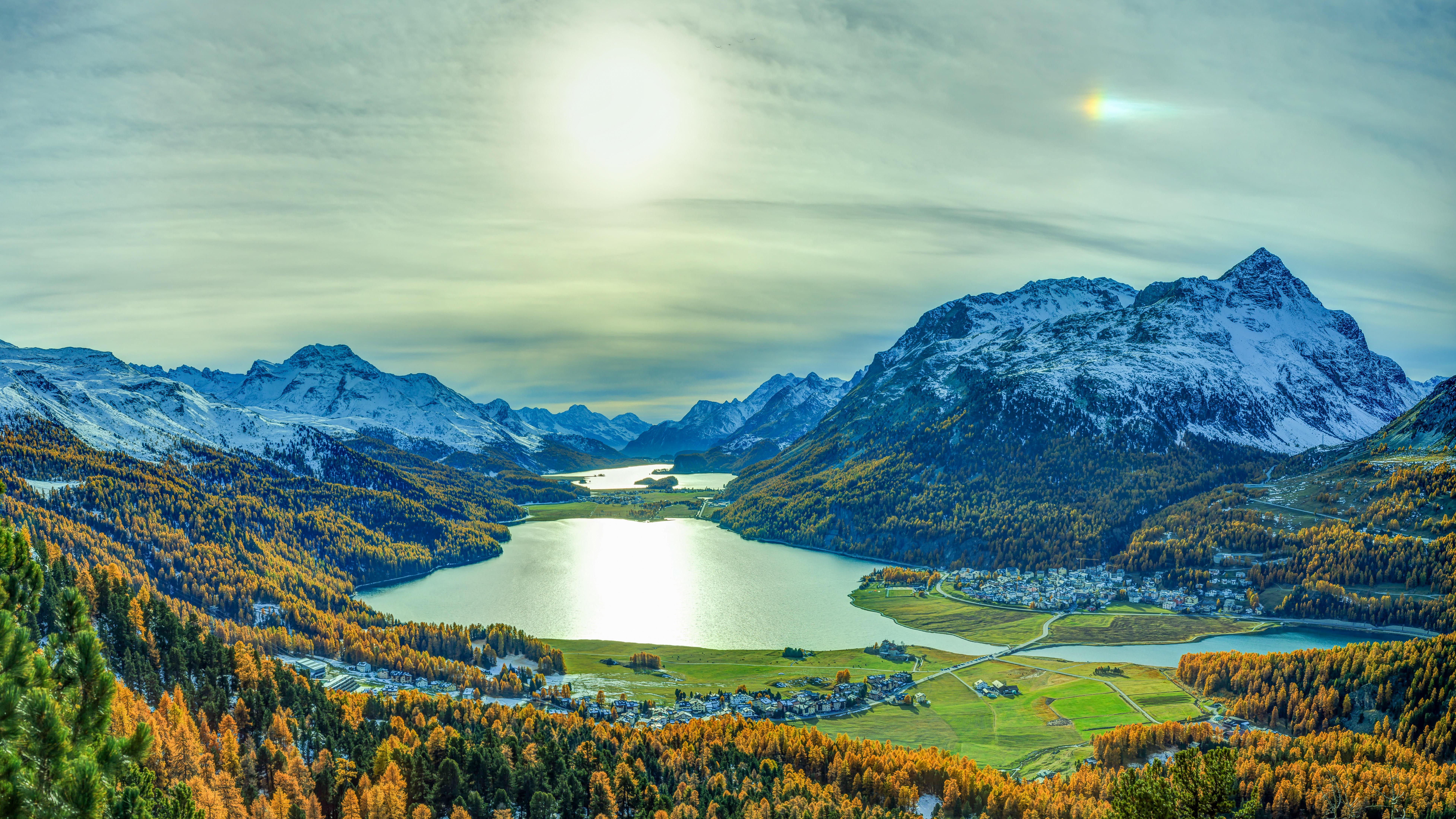 Граубюнден, Швейцария, горы