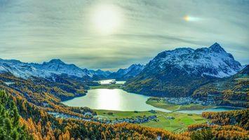 Фото бесплатно Граубюнден, Швейцария, горы