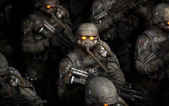 Фото бесплатно солдаты, строй, экипировка