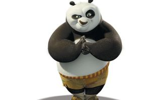 Бесплатные фото кунг-фу панда,медведь,морда,гримаса,фон белый