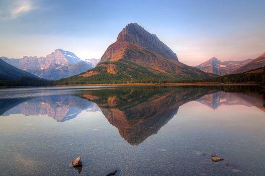 Photo free Glacier National Park, Montana, lake