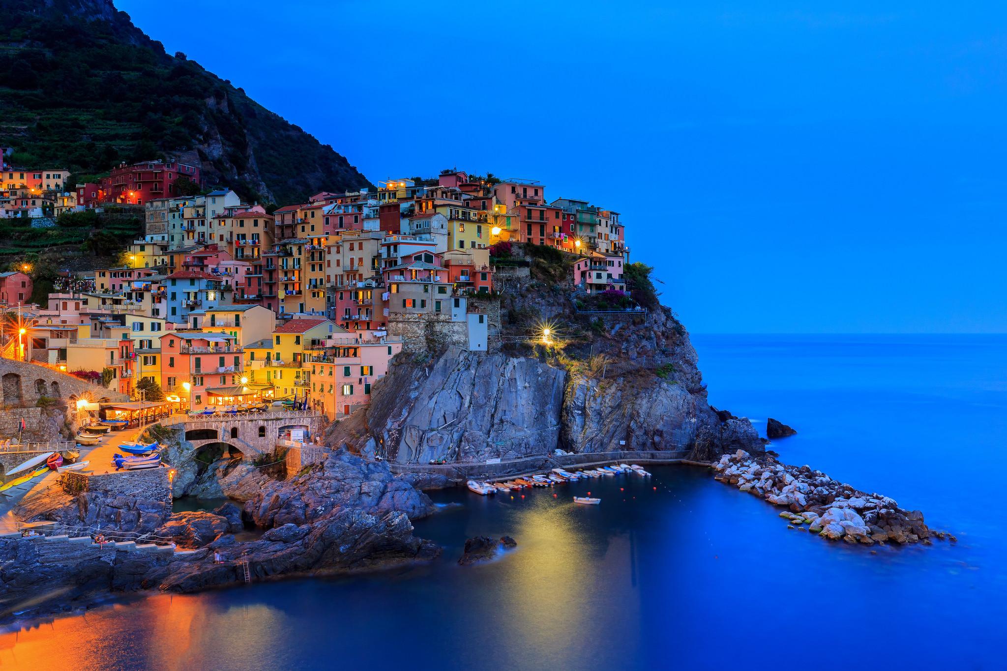 обои Manarola, Cinque Terre, Италия картинки фото