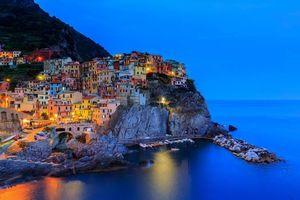 Бесплатные фото Manarola,Cinque Terre,Италия
