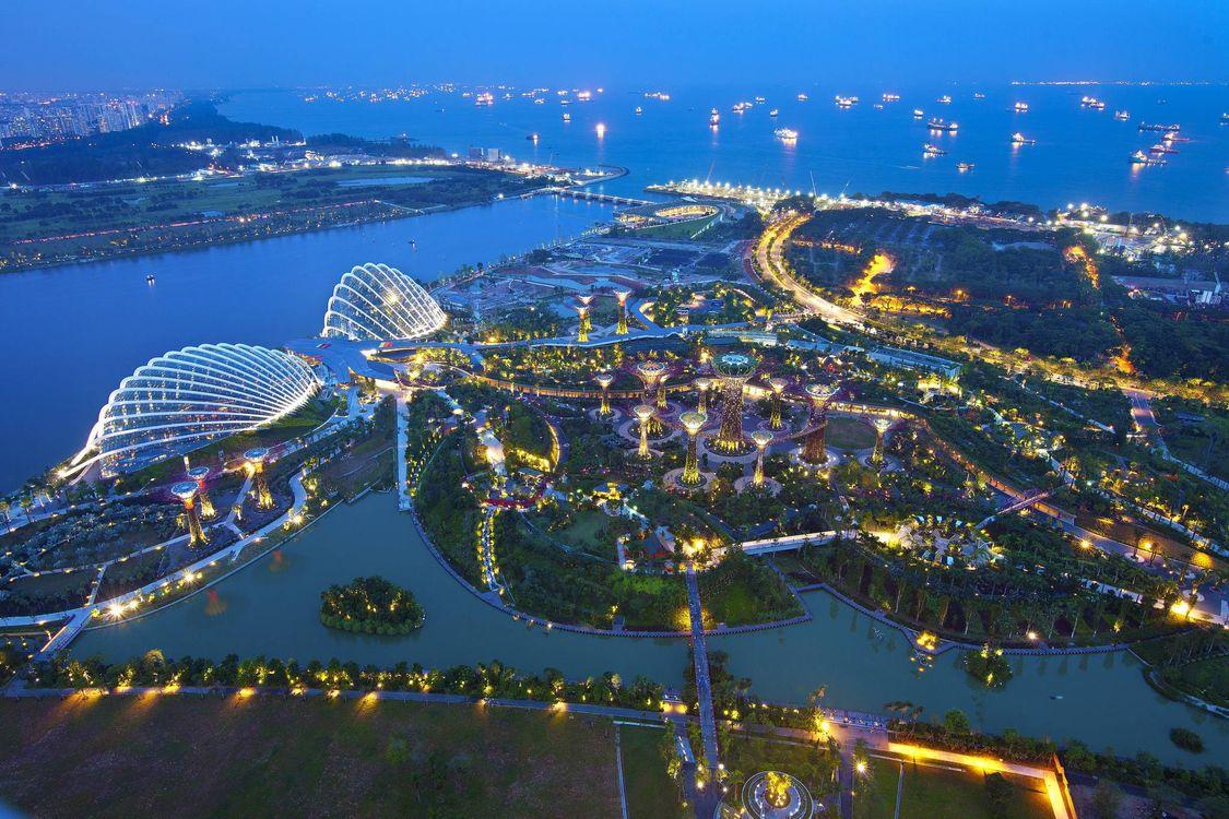 Красивые обои сингапур, сингапур