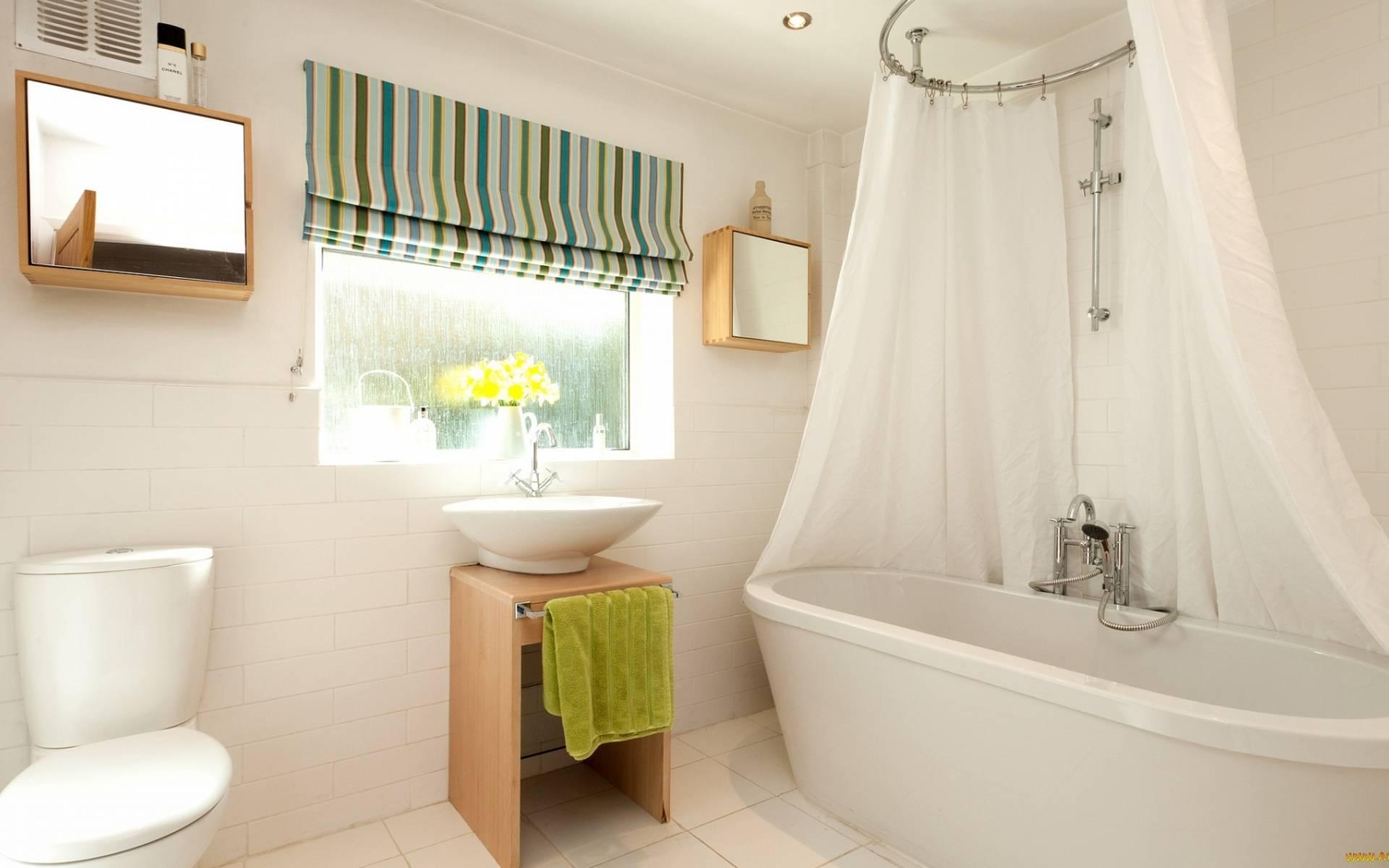 обои комната, унитаз, раковина, ванна картинки фото