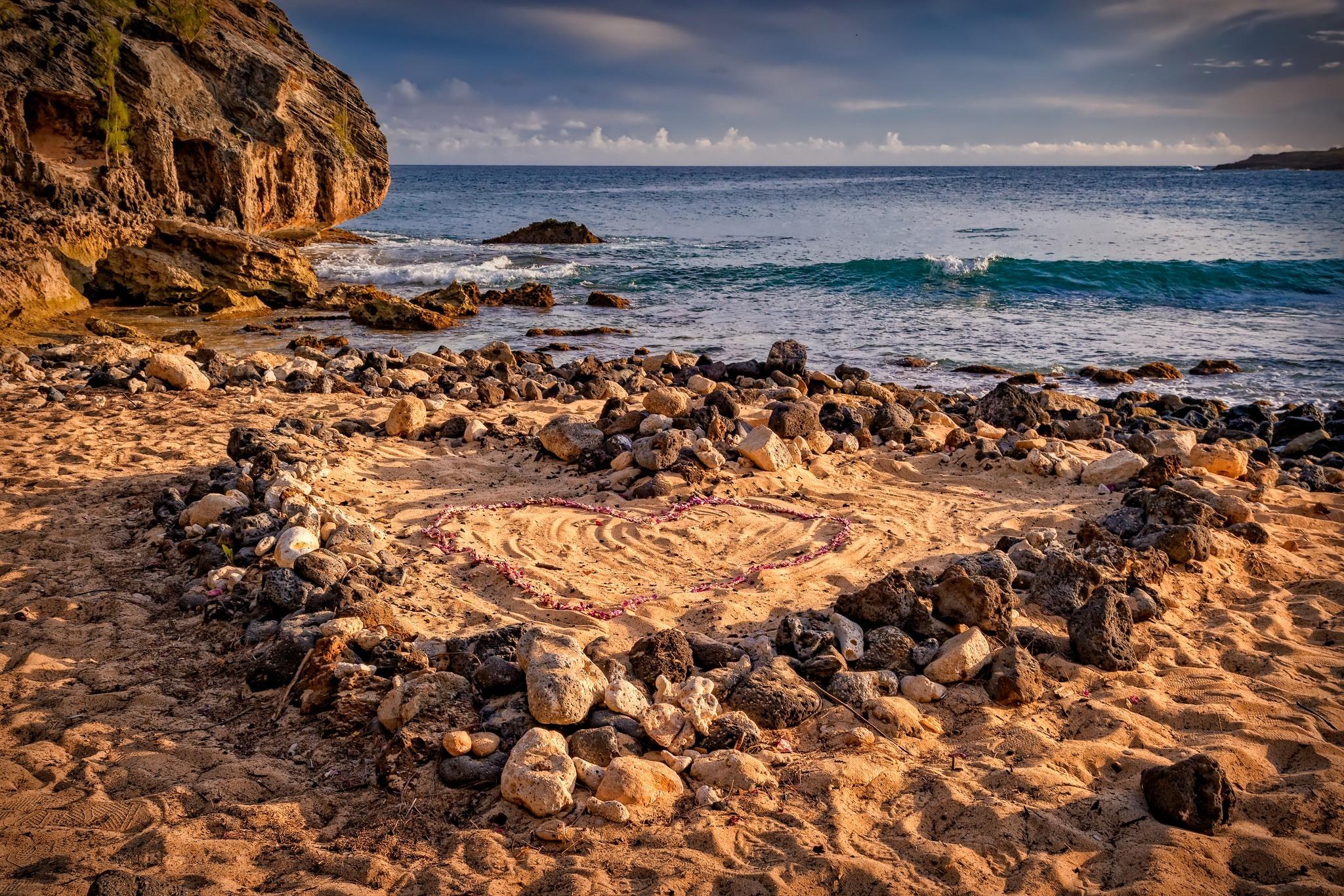 Гавайи, море, берег