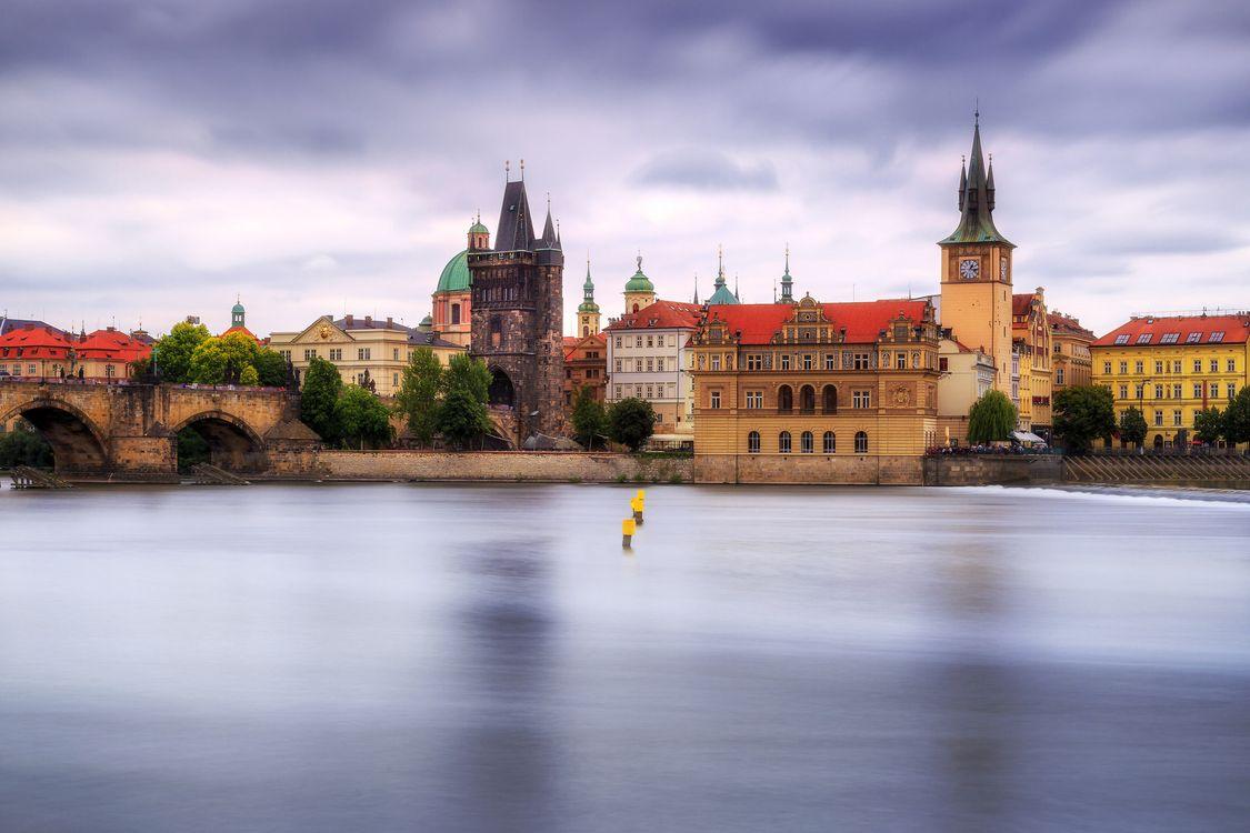 Фото бесплатно Чехия, Прага, река Влтава - на рабочий стол
