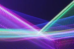 Фото бесплатно абстракция, 3д линии, сплетение
