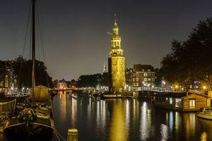 Бесплатные фото Amsterdam, Амстердам, столица и крупнейший город Нидерландов, Нидерланды, Расположен в провинции Северная Голландия, Голландия, панорама