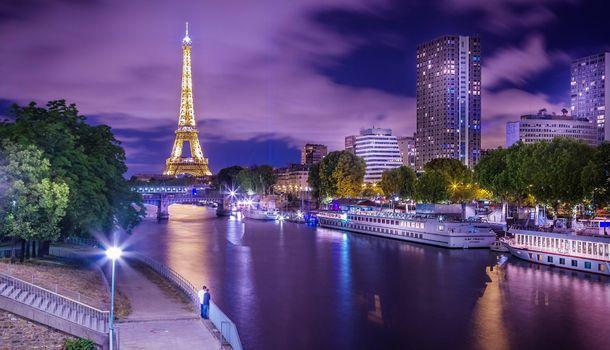 Скачать эйфелева башня, париж картинку