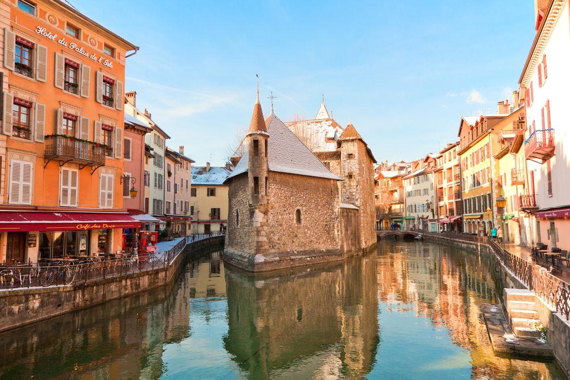 Фото бесплатно Annecy, France, Аннеси, Франция, город - скачать