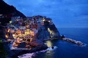 Бесплатные фото cinque terre,italy,rocks,sea,Манарола,Италия