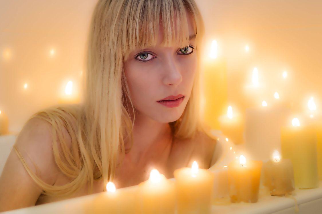 Фото бесплатно девушка, блондинка, красотка - на рабочий стол