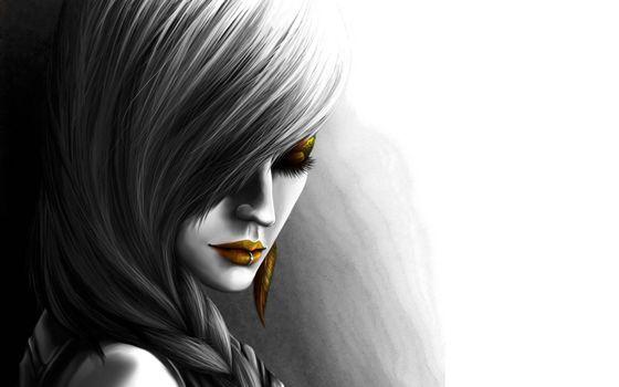 Фото бесплатно девушка, прическа, коса