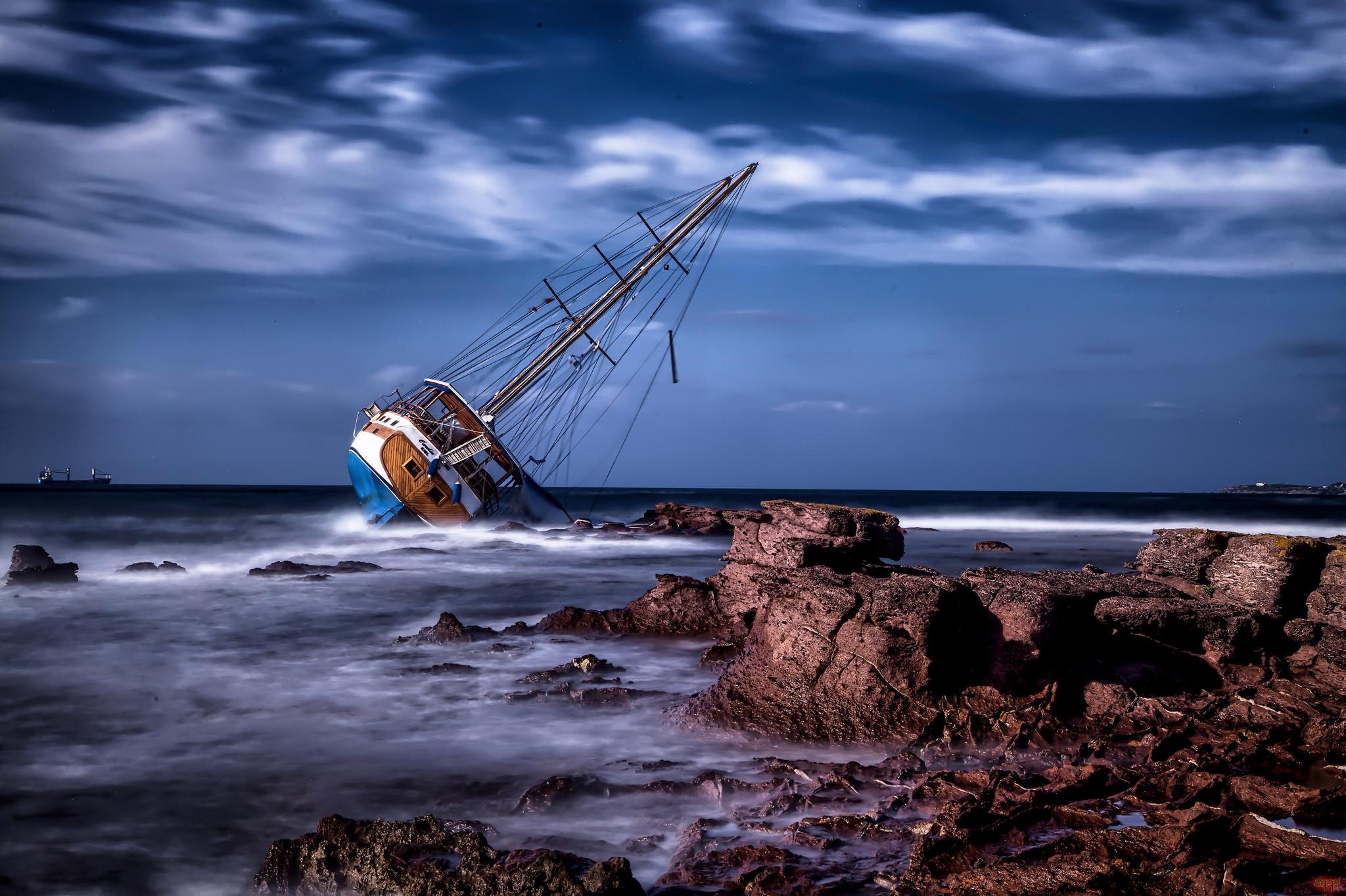 обои Гибель Каролины, Каласетта, Сардиния, Италия картинки фото